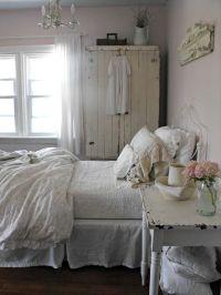 Bedroom. Grey, Pink White, Chippy, Shabby Chic ...