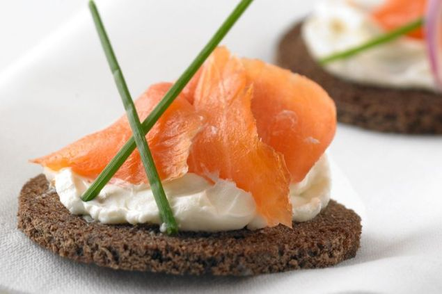 Image result for Rye Toast + Smoked Salmon