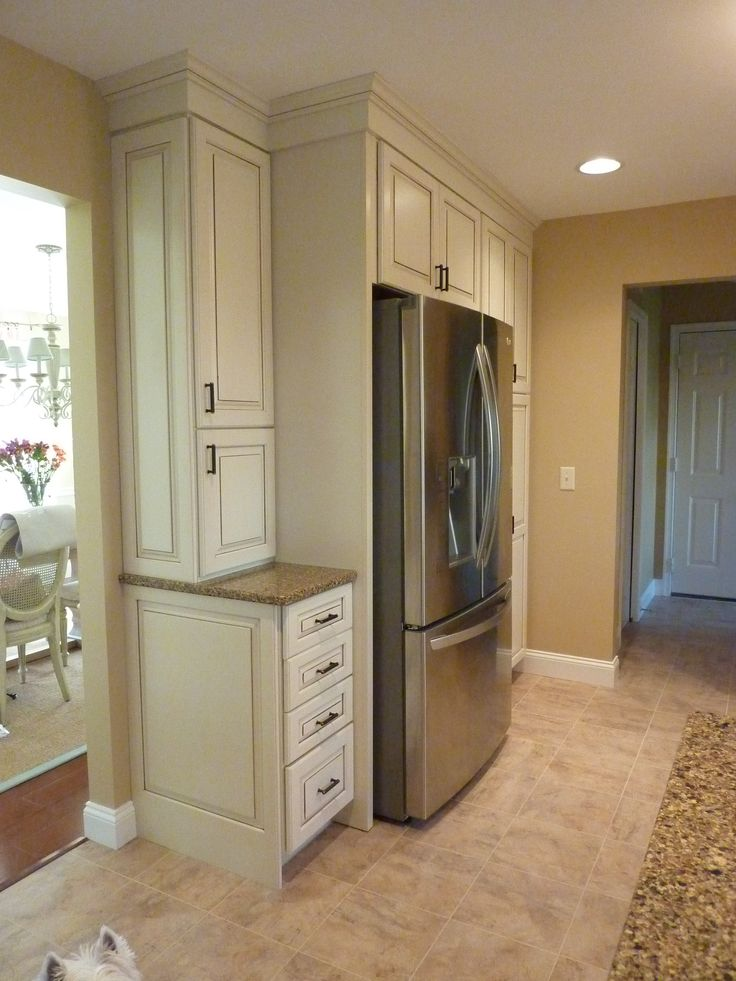 kitchen maid cabinets quality knives lots of storage, kraftmaid marquette white with ...