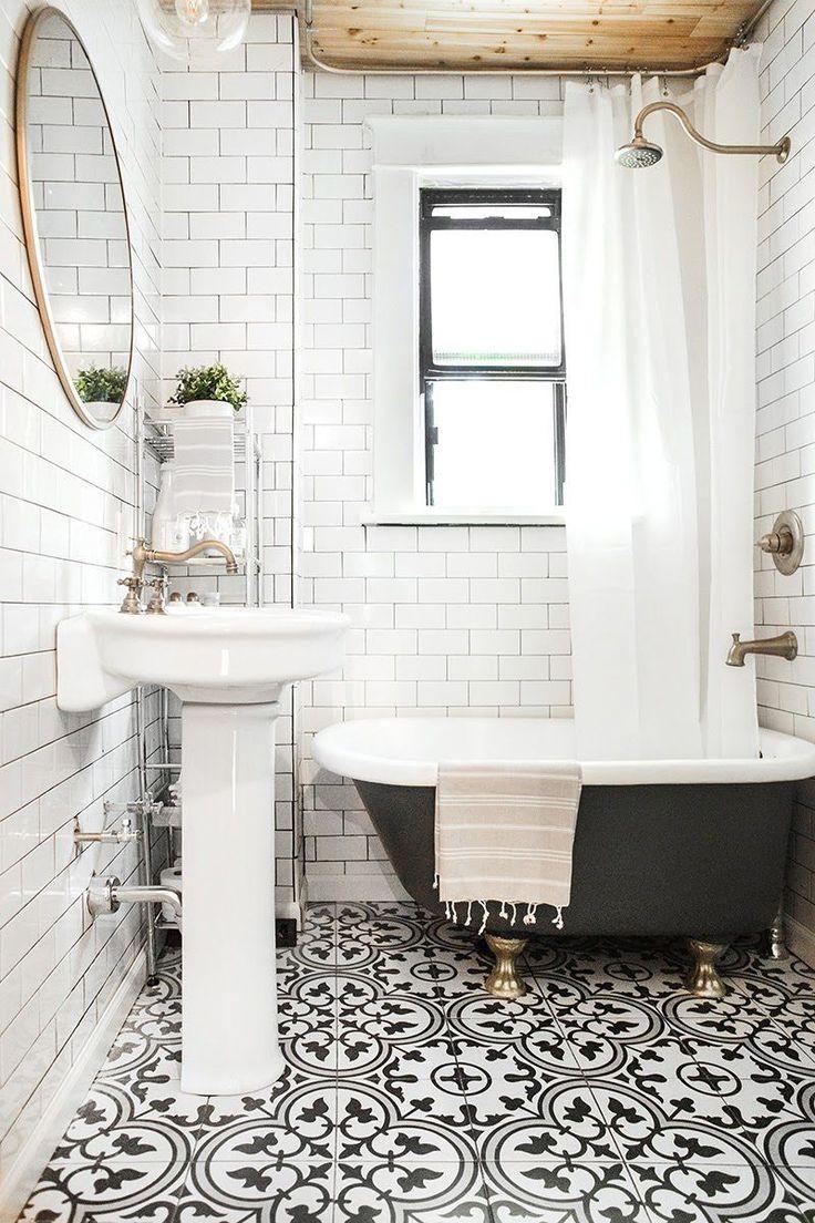 Best 25 Black white bathrooms ideas on Pinterest