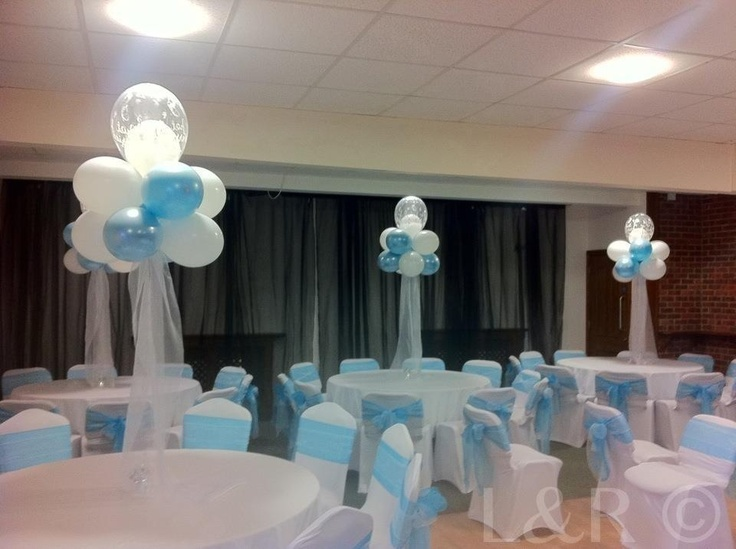 tulle chair covers for wedding large flower sash elegant balloon deco | table centre pieces ideas pinterest cloud 9, 9 and