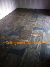 porcelain tile made to look like slate