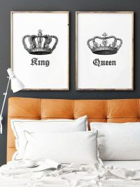 25+ Best Ideas about King And Queen Crowns on Pinterest