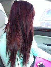 1000+ ideas about Burgundy Hair Highlights on Pinterest ...