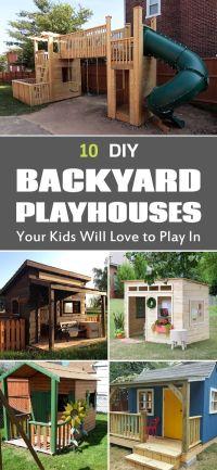 25+ best ideas about Backyard Playhouse on Pinterest ...