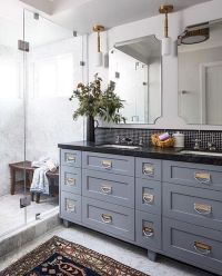 25+ best ideas about Grey bathroom cabinets on Pinterest