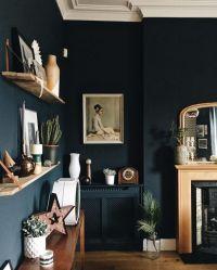 Best 20+ Dark blue walls ideas on Pinterest   Navy walls ...