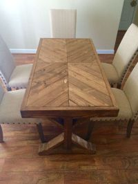 Best 25+ Chevron table ideas on Pinterest