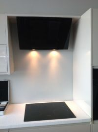 Really funky, modern, kitchen induction hob cooker and ...