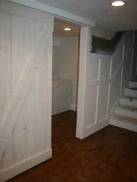basement laundry sliding door   B+K house   Pinterest ...