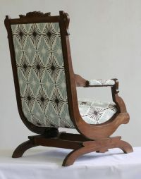 Antique Victorian Rocking Chair | Chairs, Rocking Chairs ...
