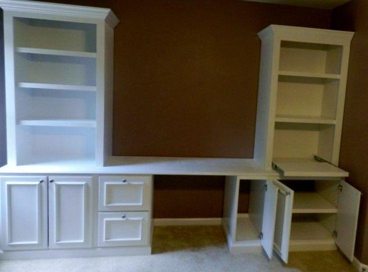 corner hutch kitchen antiqued cabinets built in desks | built+in+desk+and+shelves headline ...