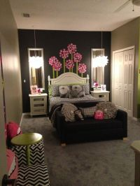 Girls room age 10 & up, room to grow, Grey tones with ...