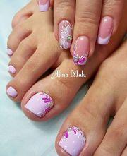 3446 toe nails design