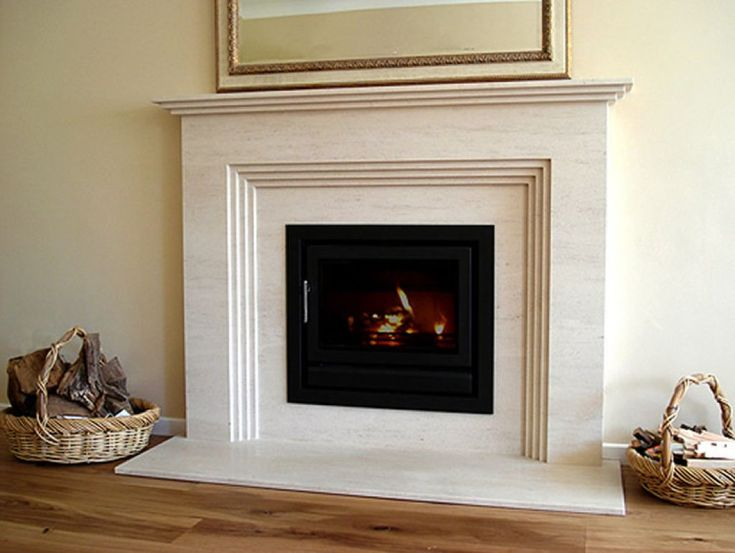 1000+ ideas about Gas Fireplace Mantel on Pinterest
