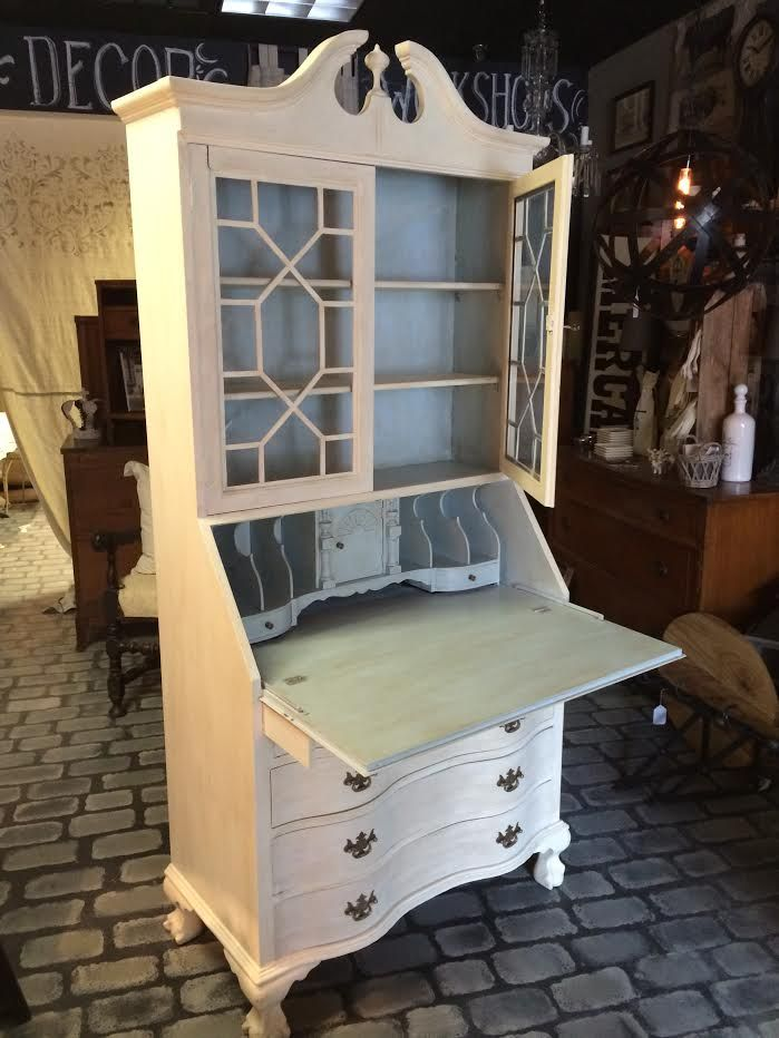 Secretary Desk reinvented with Chalk Paint by Annie Sloan