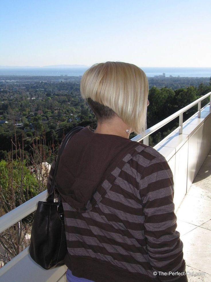 Pin by David Connelly on Bleach Blonde Hair wDark Nape 1