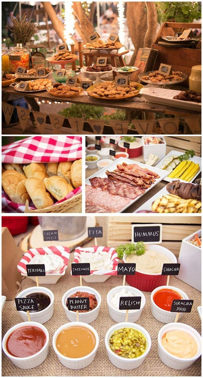 25 Best Ideas About Backyard Barbeque Party On Pinterest