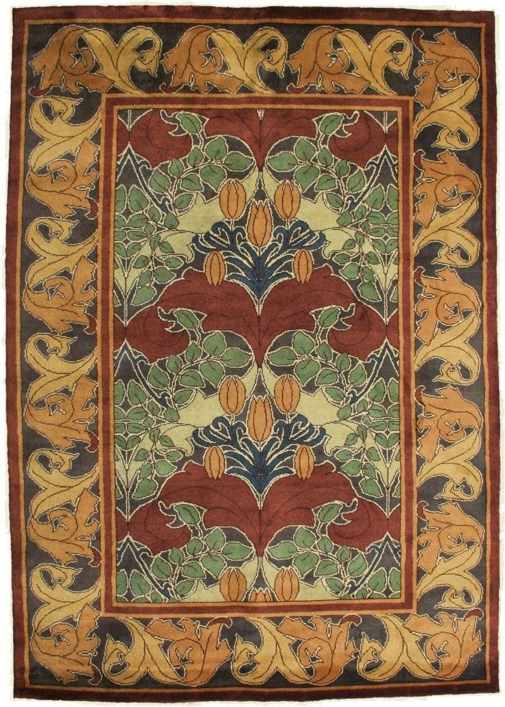1000 Images About Arts And Crafts Rugs On Pinterest