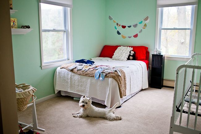 SherwinWilliams Mint Condition SW 6743 The color we picked for the Babys room  Home decor