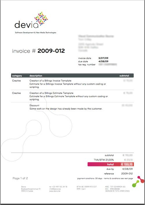 1000+ Images About Invoices Inspiration On Pinterest