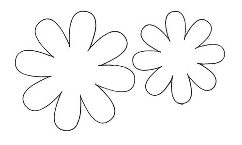 8 best Flower Templates images on Pinterest
