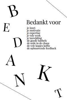 36 best images about Bedankt on Pinterest