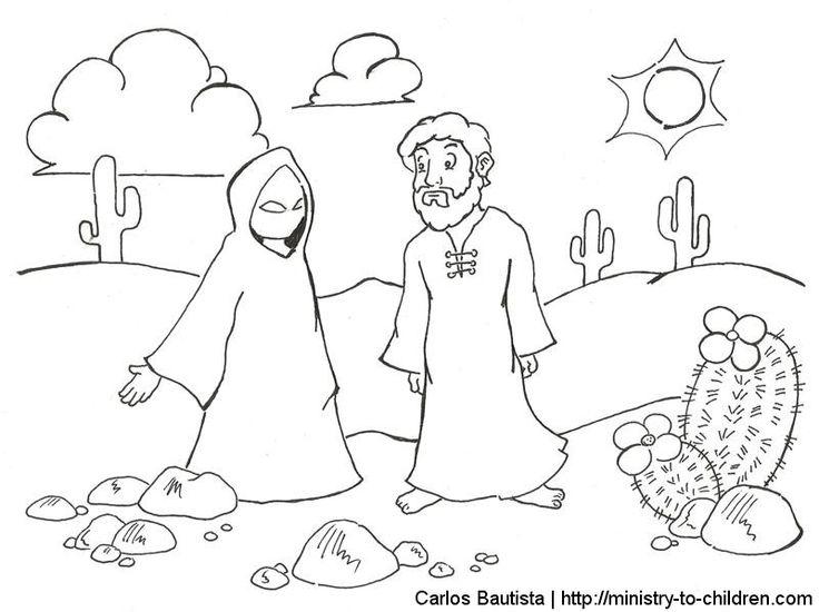 53 best images about Temptation of Jesus on Pinterest