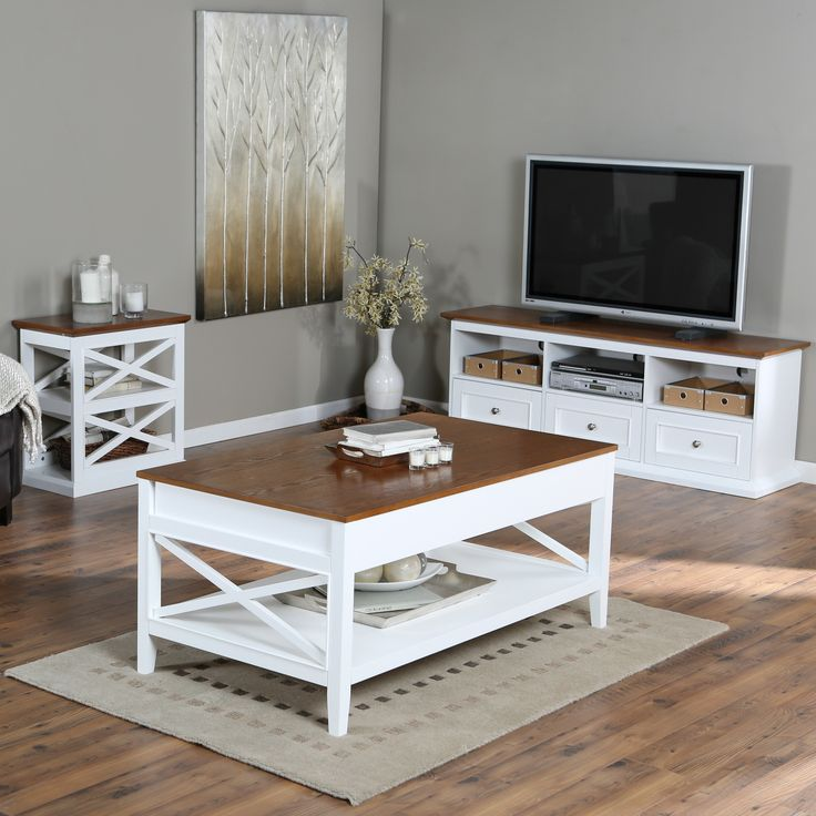 Belham Living Hampton Living Room Collection WhiteOak