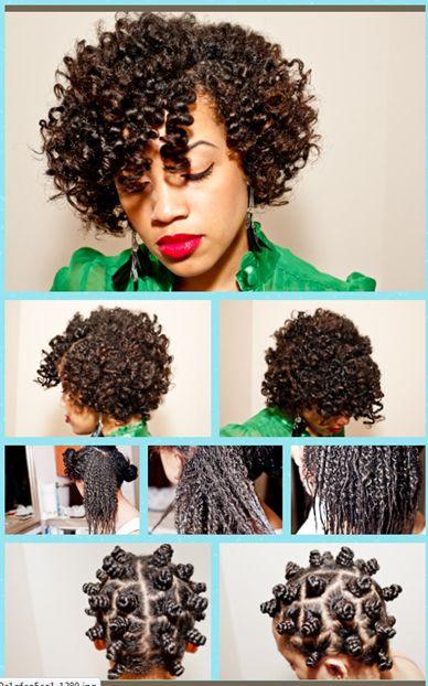 25 Best Ideas About Bantu Knot Curls On Pinterest Big Messy