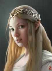 hobbit woman elf girl