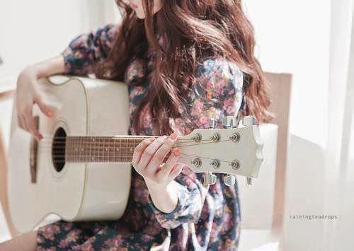 Attitude Girl With Guitar Wallpapers Girl With Guitar Fb Dp Facebook Dp Pinterest Girls