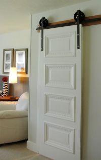 Handcrafted Iron Barn Door Rollers || Salt and Sequins via ...