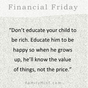 FamilyMint can help parents and children build financial