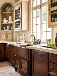 A Kitchen with French Flair | The two, French kitchens and ...