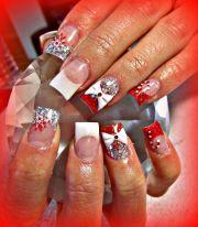 3d bow acrylic nails nail art