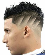 haircut line design men's hairstyles