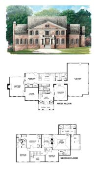 The 49 best images about Greek Revival House Plans on ...