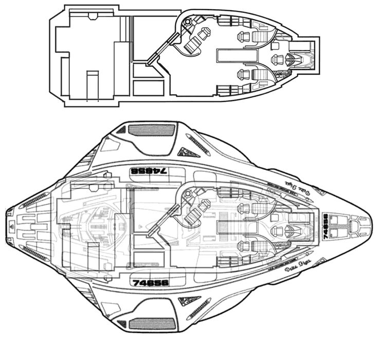Schematic Layout Of Deep Space 9