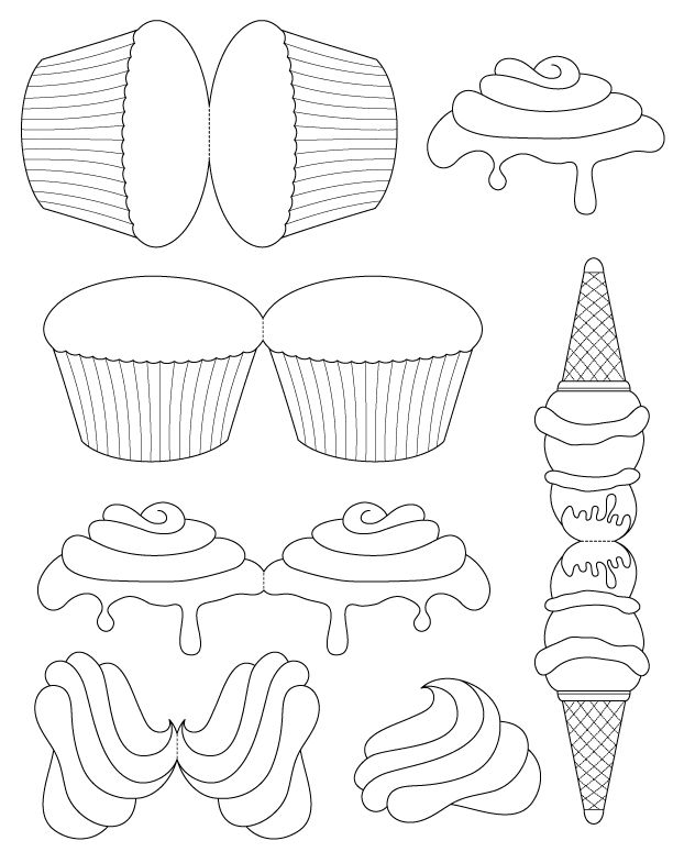 25+ best ideas about Cupcake template on Pinterest