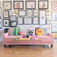25+ best ideas about Pink sofa on Pinterest | Blush grey ...