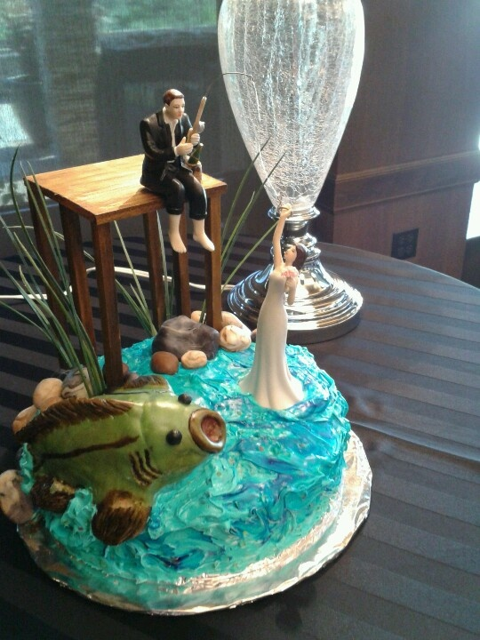 Grooms Cake Fishing Theme Wedding Ideas Pinterest To