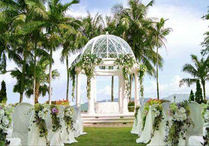Ideas To Decorate Wedding Garden When My Dreams Come True