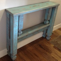 Trunk Coffee Table Living Room Furniture Formal We Made A Narrow Entryway And Distressed It To Match ...