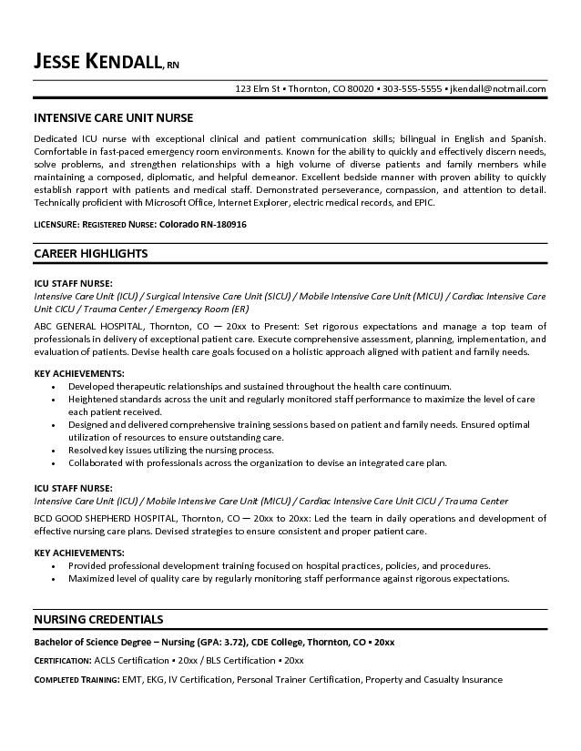 Template Cna Resume Objective Examples Example Of Cna Resume Objectives