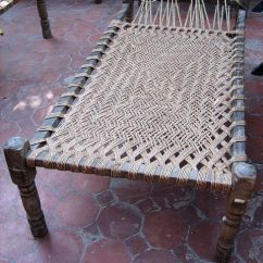 Beach Chairs On Sale Bedroom Chair Green Cot   Made In India Materials: Wood, Rope Weave Hut > Concept Pinterest Traditional ...