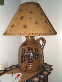 195 best images about Lamps, country & primitive on