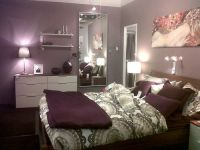 Purple bedroom   Home   Pinterest   Furniture, Ikea duvet ...