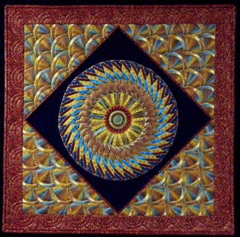 Aztec Sun Mandala Wallhanging Quilts New Mexico