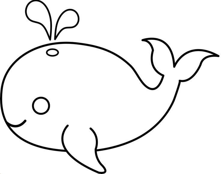 Whales, Applique templates and Appliques on Pinterest